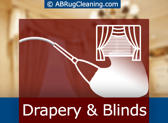 Drapery and Blinds Cleaning